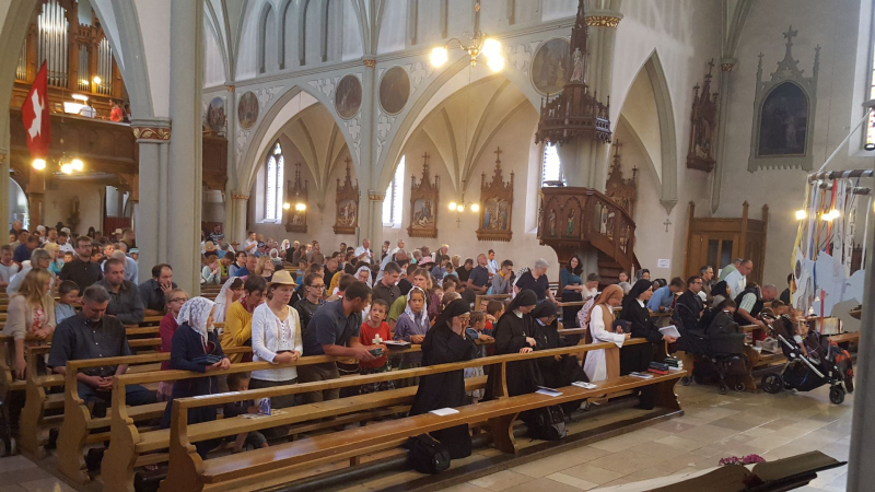 Les fidèles nombreux, près de 400, pour cette année 2019